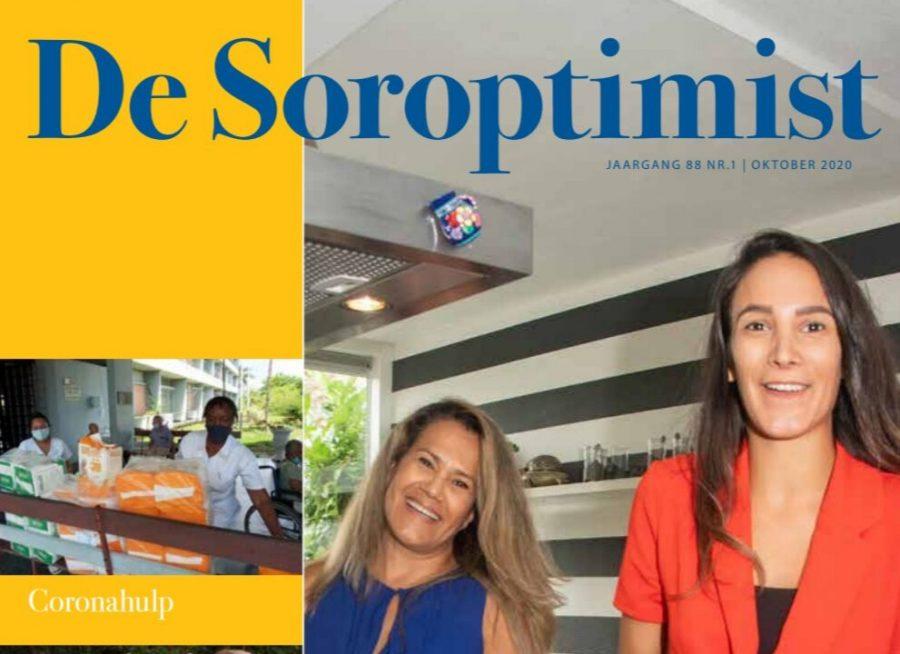 """""""Moeder en dochter zetten wereldkeuken in voor hulp in coronatijd"""" in de Soroptimist"""